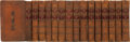 Books:Fine Bindings & Library Sets, Mr. De Rapin Thoryas. The History of England, as Well as Ecclesiastical and Civil. Done Into English from th... (Total: 15 Items)