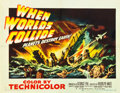 """Movie Posters:Science Fiction, When Worlds Collide (Paramount, 1951). Half Sheet (22"""" X 28""""). Style B.. ..."""