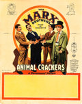 "Movie Posters:Comedy, Animal Crackers (Paramount, 1930). Tabletop Standee (11"" X 14"")....."