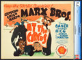 "Movie Posters:Comedy, At the Circus (MGM, 1939). CGC Graded Title Lobby Card (11"" X14"").. ..."