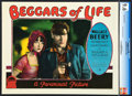 "Movie Posters:Drama, Beggars of Life (Paramount, 1928). CGC Graded Lobby Card (11"" X14"").. ..."