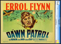 "Movie Posters:War, The Dawn Patrol (Warner Brothers, 1938). CGC Graded Title Lobby Card (11"" X 14"").. ..."