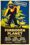 "Movie Posters:Science Fiction, Forbidden Planet (MGM, 1956). Poster (40"" X 60"").. ..."