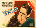"Movie Posters:Comedy, Merrily We Go to Hell (Paramount, 1932). Half Sheet (22"" X 28"")....."