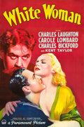"Movie Posters:Drama, White Woman (Paramount, 1933). Full Bleed One Sheet (26.5"" X 39.75""). Style A.. ..."