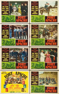 "Movie Posters:Western, Fort Apache (RKO, 1948). Lobby Card Set of 8 (11"" X 14"").. ...(Total: 8 Items)"