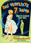 """Movie Posters:Comedy, The Seven Year Itch (20th Century Fox, 1955). German A1 (23.5"""" X33"""").. ..."""