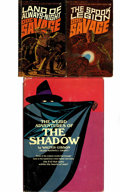 Books:Hardcover, Doc Savage/Shadow Pulp Hero Related Book Group (Bantam/Grosset& Dunlap, ).... (Total: 3 Items)