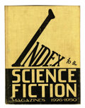 Memorabilia:Science Fiction, Index to the Science Fiction Magazines 1926-1950 Hardcover (Perri Press, 1952).... (Total: 4 Items)
