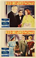 "Movie Posters:Comedy, Red Headed Woman (MGM, 1932). Lobby Cards (2) (11"" X 14"").. ...(Total: 2 Items)"