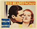 "Movie Posters:Comedy, Red Headed Woman (MGM, 1932). Lobby Card (11"" X 14"").. ..."