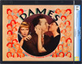 """Movie Posters:Musical, Dames (Warner Brothers, 1934). CGC Graded Lobby Card (11"""" X 14"""").. ..."""