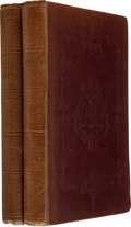 Books:Literature Pre-1900, Charles Dickens. American Notes for General Circulation. InTwo Volumes. London: Chapman and Hall, 1842.. Firs... (Total: 2Items)