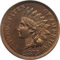 Proof Indian Cents: , 1875 1C PR64 Red and Brown PCGS. CAC. PCGS Population (91/31). NGC Census: (98/94). Mintage: 700. Numismedia Wsl. Price for...