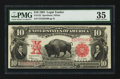 Large Size:Legal Tender Notes, Fr. 122 $10 1901 Legal Tender PMG Choice Very Fine 35.. ...