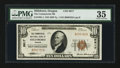 National Bank Notes:Oregon, Hillsboro, OR - $10 1929 Ty. 1 The Commercial NB Ch. # 9917. ...