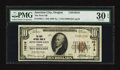 National Bank Notes:Oregon, Junction City, OR - $10 1929 Ty. 1 The First NB Ch. # 10218. ...