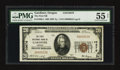 National Bank Notes:Oregon, Gardiner, OR - $20 1929 Ty. 1 The First NB Ch. # 10676. ...