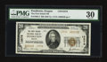 National Bank Notes:Oregon, Pendleton, OR - $20 1929 Ty. 2 The First Inland NB Ch. # 13576. ...