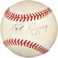 Autographs:Baseballs, Circa 1980 Red Ruffing Single Signed Baseball. ...
