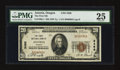 National Bank Notes:Oregon, Astoria, OR - $20 1929 Ty. 1 The First NB Ch. # 3486. ...