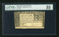 Colonial Notes:Maryland, Maryland April 10, 1774 $4 PMG Choice Very Fine 35. A lovely example from this common Maryland issue that is well printed an...