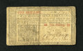Colonial Notes:New Jersey, New Jersey March 25, 1776 1s Fine. A small tear is located at bottom center....