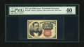 Fractional Currency:Fifth Issue, Fr. 1266 10c Fifth Issue PMG Extremely Fine 40. This note is sealedfor protection....