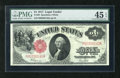 """Fr. 39 $1 1917 Legal Tender PMG Choice Extremely Fine 45EPQ. """"Exceptional Paper Quality"""" is noted on the holde..."""