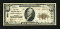 National Bank Notes:Kentucky, Paintsville, KY - $10 1929 Ty. 2 The First NB Ch. # 13763. ThisJohnson County issuer printed only the Type 2 design in ...