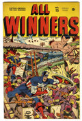 Golden Age (1938-1955):Superhero, All Winners Comics #15 (Timely, 1945) Condition: FN+....