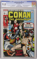 Bronze Age (1970-1979):Superhero, Conan the Barbarian #2 (Marvel, 1970) CGC NM/MT 9.8 White pages....