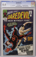 Silver Age (1956-1969):Superhero, Daredevil #7 (Marvel, 1965) CGC VF 8.0 Off-white pages....