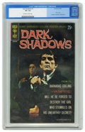 Silver Age (1956-1969):Horror, Dark Shadows #1 (Gold Key, 1969) CGC VF+ 8.5 Off-white to whitepages. Featured here is the first issue of Gold Key's comic-...