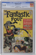 Silver Age (1956-1969):Superhero, Fantastic Four #2 (Marvel, 1962) CGC GD/VG 3.0 Cream to off-white pages....