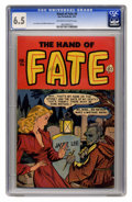 Golden Age (1938-1955):Horror, The Hand of Fate #9 (Ace, 1952) CGC FN+ 6.5 Off-white to whitepages....