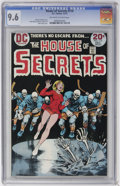 Bronze Age (1970-1979):Horror, House of Secrets #114 (DC, 1973) CGC NM+ 9.6 Off-white to whitepages....