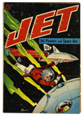 Golden Age (1938-1955):Science Fiction, Jet Powers #1 (Magazine Enterprises, 1950) Condition: VG+....