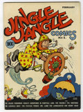 Golden Age (1938-1955):Cartoon Character, Jingle Jangle Comics #1 (Eastern Color, 1942) Condition: VF....