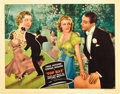 """Movie Posters:Musical, Top Hat (RKO, 1935). Lobby Card (11"""" X 14"""").. ..."""