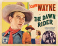"Movie Posters:Western, The Dawn Rider (Monogram, 1935). Half Sheet (22"" X 28"").. ..."