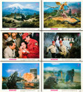 "Movie Posters:Science Fiction, Destroy All Monsters (Toho, 1968). Lobby Cards (6) (11"" X 14"")..... (Total: 6 Items)"