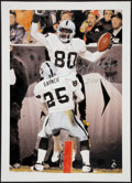 """Football Collectibles:Photos, Jerry Rice """"200 T.D."""" Signed Lithograph. ..."""