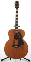 Musical Instruments:Acoustic Guitars, Circa 1960 Kay Jumbo Natural Acoustic Guitar....