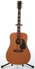 Musical Instruments:Acoustic Guitars, 1970s Bruno Ventura V-35 Lawsuit Natural Acoustic Guitar, #87017....