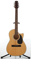 Musical Instruments:Acoustic Guitars, 1990s Mountain M-29 Natural Acoustic Guitar....