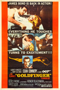 "Movie Posters:James Bond, Goldfinger (United Artists, 1964). Poster (40"" X 60""). Style Y....."