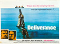 """Movie Posters:Action, Deliverance (Warner Brothers, 1972). British Quad (30"""" X 40"""").. ..."""