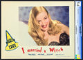 """Movie Posters:Fantasy, I Married a Witch (United Artists, 1942). CGC Graded Lobby Card (11"""" X 14"""").. ..."""