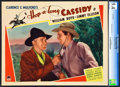 "Movie Posters:Western, Hop-a-long Cassidy (Paramount, 1935). CGC Graded Lobby Card (11"" X14"").. ..."